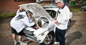 Ultimate Sleeper 11 Second Datsun 120Y Car Build 1 TN